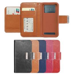 Vente en gros Flip universel portefeuille téléphone cas 2019 nouvelle arrivée en cuir PU cas de téléphone portable avec fermeture magnétique pour 4-6 pouces BLU éléphant