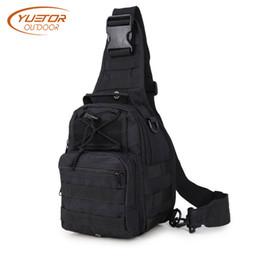 tactical bag single 2019 - YUETOR OUTDOOR 600D Tactical Shoulder Bag Waterproof Single Shoulder Camping Travel Trekking Hiking Backpack for Men dis