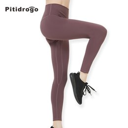 df3fb9579418c4 Brown fleece leggings online shopping - Pitidrogo Women s Sport Yoga  Running Pants High Waist Workout