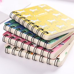 small notebook pads 2019 - Creative Fresh Cute A7 Small Diary For Drawing Painting Graffiti Notebook Memo Pad Office School Supplies Gift cheap sma