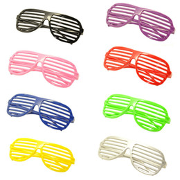 $enCountryForm.capitalKeyWord Australia - Shutter Shape Eye Glasses Frame Festival Decoration Accessories Cosplay Party Supplies Ornaments Gift For Children Play