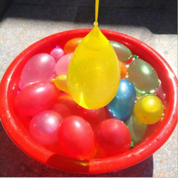 Kids Party Packs NZ - wholesale 111pcs pack Water Balloon Magic Water Balloon Birthday Balloons Summer Toys for Kids Water War Bombs Party Accessories