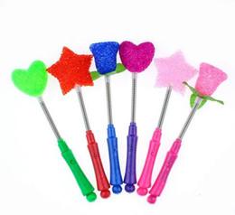 $enCountryForm.capitalKeyWord UK - Free Shipping New LED Glow Star Wand Mixed Rose Heart Shaped Stick Flashing Light Concert Party Novelty Led Toys