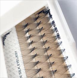 Individual False Eyelashes 14mm Australia - fashion 8-14mm False Eyelashes Natural C Curl 10d Black 0.07mm Lash False Eyelashes Extension Tips Big Eye Tools