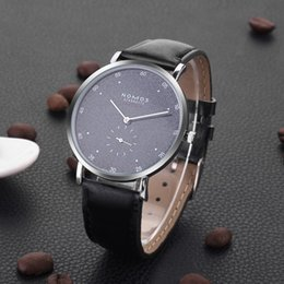 Auto Calendar Quartz Clock Australia - Simple designer women men watches sport quartz calendar black Leather gold stainless steel clock