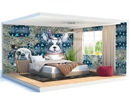 $enCountryForm.capitalKeyWord Australia - Nordic cute animal dog child whole house wall decoration Beautiful Wallpaper