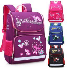 school boy car bags 2019 - 2019 New Children School Bags Girls Butterfly School Backpack Kids Satchel Boys Racing Car Student Backpack Waterproof c