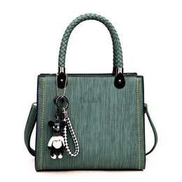 crochet small handbag Canada - Free2019 Bag Small Handbag Woman Package Trend Joker Single Shoulder Messenger