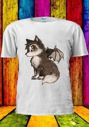 $enCountryForm.capitalKeyWord UK - Cute Baby Wolves With Wings Tumblr T-shirt Vest Tank Top Men Women Unisex 2398