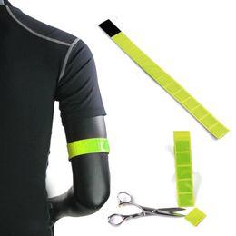 $enCountryForm.capitalKeyWord UK - Ultra-Tri Reflective Tape Running Gear Adjustable Armband Safety Belt for Night Run Cycling Walking Hiking Arm Wrist Ankle Band #86640