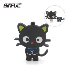 $enCountryForm.capitalKeyWord NZ - New Arrival Cat Pendrive 64gb 32gb 16gb 8gb 4gb Cartoon Puss Animal Usb Stick Memory Flash Pen Drive