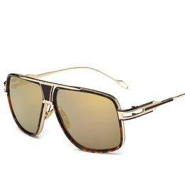 2080372919 2019 New Men Luxury Sunglasses Retro Full Frame Glasses High Quality UV  Protection Outdoor Sport Eyewear Brand Famous Sunglasses 11 Colors