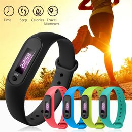 Men Digital Wrist Watches Australia - Digital LCD Silicone Wirstband Pedometer Run Step Walking Distance Calorie Counter Wrist Women&Men Sport Fitness Watch Bracelet