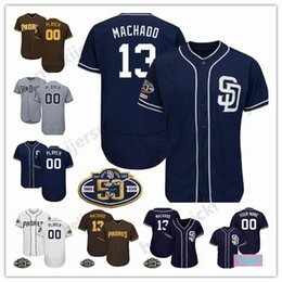 a26821025 San Diego 19 Tony Gwynn 2019 Padres 50th Jersey Custom Any Name Any Number 4  Wil Myers 31 Dave Winfield all stitched jersey