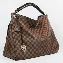 Chinese  Original 2018 free ship NEVER FULL cowhide leather handbags color leather shopping bag Never single shoulder bag 40249 manufacturers