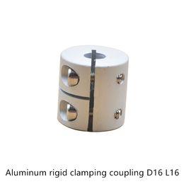 Clamp Couplings Australia - D16L16 2 3 4 5 6 6.35 8mm Aluminum Flexible Shaft Coupler clamping Rigid Coupling Motor Connector D16 L16