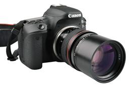 Teleobjetivo F2.8 de 135 mm para Canon EOS 1300D 6D 77D 760D 800D 60D 70D 80D Nikon D810 D850 Lente de cámara DSLR en venta