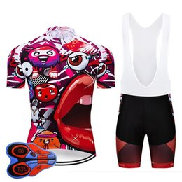 7d9053c2 CyCling jerseys funny online shopping - Crossrider Funny Cycling Jersey  Shorts Bib Set MTB Uniform Bike