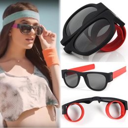 Clip Hair Black Australia - Accesorios Para El Cabello Creative Wristband Glasses Polarized Sunglasses Driving Goggles Snap Bracelet Hair Clips
