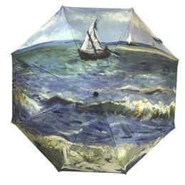 $enCountryForm.capitalKeyWord Australia - Mini Folding Umbrella Rain Women Automatic Mini Pocket Umbrella Women Windproof Black Coating Parasol Portable 40U0037