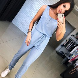 pink suits for women Australia - Women Yoga Sets Fitness Sports Dance Weight Loss Yoga Suits Workout Clothes for Woman Long Jumpsuit Blue Pink Gray