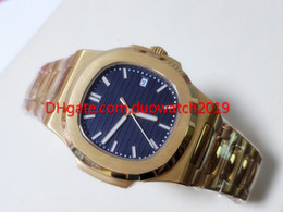 Hand Watch For Men Sports Australia - Selling men watch Mechanical 40mm Automatic Watch For Men 18 k Gold Dial 5711 Sport mechanical Wristwatches Mens NautilusWatches