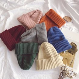 $enCountryForm.capitalKeyWord Australia - Drop Shipping 2019 Baby Winter Hat Autumn Cute Toddler Kids Girls&Boys Warm Knitted Hats All-match Beanie Caps 8Colors