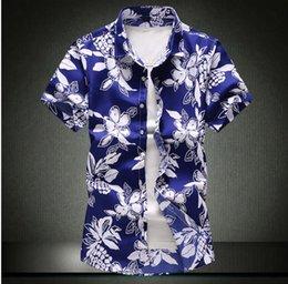 $enCountryForm.capitalKeyWord Australia - 2019 Autumn Fashion Brand Men Clothes Slim Fit short Sleeve Shirt Men Plaid Cotton Casual Men t-Shirt Social Plus Size M-5XL
