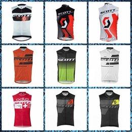 Scott Bikes Canada - 2019 New SCOTT team Cycling Sleeveless jersey Vest Summer Sports Clothing Bicycle Breathable Quick-Dry Bike shirts U51007