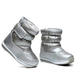 rubber bungee Canada - Children's Rubber Boots For Girls Boys mid-calf bungee lacing snow boots waterproof girls boot sport shoes fur lining kids boot S200107