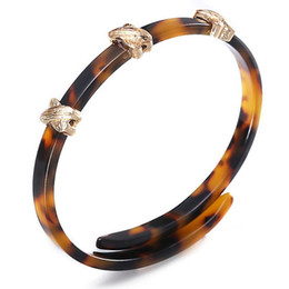 0b0d3c905fb designer jewelry acrylic bangles bracelets amber color bracelets resizable  simple for women hot fashion free of shipping
