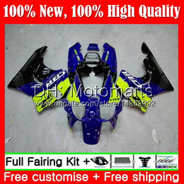 cbr silver Canada - Body For HONDA CBR 893RR CBR900RR CBR893RR 89 90 91 92 93 Blue green 70MT6 CBR900 CBR893 RR 1989 1990 1991 1992 1993 New Fairing Bodywork