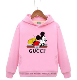 hoodie latest NZ - Latest fashion casual long sleeve boys girls high quality cartoon printed Hoodie 031606