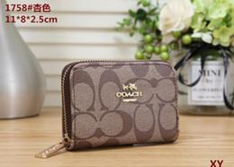 $enCountryForm.capitalKeyWord NZ - Wholesale new women's wallet classic fashion zipper short wallet multicolor clutch bag free post