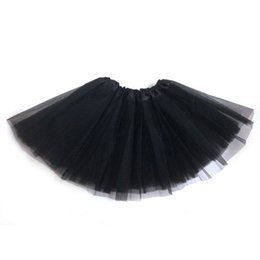 $enCountryForm.capitalKeyWord Australia - # Snowshine4 5003 Fashion Cotton Black Green Purple Pink White Pretty Girl Elastic Stretchy Tulle Adult Tutu 3 Layer Skirt