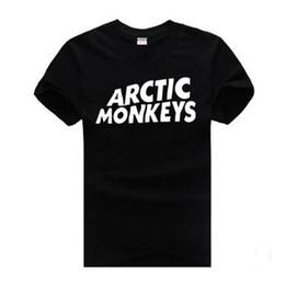 Arctic Monkeys Tee NZ - ARCTIC MONKEYS Mens Tshirts Short Sleeved Tops Teenager Casual Clothing Summer Tees