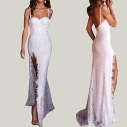 T Shirt Dress Split Up Sides Australia - 2019 Hot Sale Arabic Gold Appliques High Collar Prom Dresses Mermaid Vintage Long Strap Sexy High Thigh Split Black Girls Evening Gowns