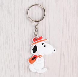 Japanese anime girl figures online shopping - New Japanese anime dog PVC Keychain Action Figure Pendant Keyring Collection Gift