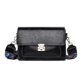 $enCountryForm.capitalKeyWord UK - New Designer Handbags Women Casual Totes PU Leather Lady Fashion Shoulder bags Hot Sale Female Small Messenger Bag With Stripe