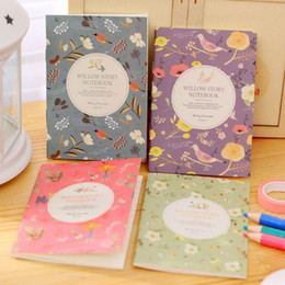 Stationery Mini Notepads Australia - 1PC Cute Kawaii Cartoon Animal Notebook Lovely Flower Notepad For Kids Student Gift Korean Stationery