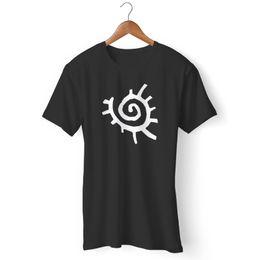 tribal print clothes 2019 - Tribal Sun Hipster Graphic T-Shirt denim clothes camiseta t shirt cattt windbreaker Pug tshirt Trump sweat sporter t-shi