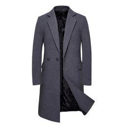 Hommes Veste en velours côtelé Tide Turn-down col à boutonnage simple à manches longues Manteau