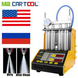 Injector machIne online shopping - MR CARTOOL CT150 Car Fuel Injector Clean Machine Testers IN Common Rail Injectors Tester with Cars Injector Connector