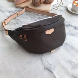 Brown leather Bags men online shopping - 2019 Newest Stlye Bumbag Cross Body Shoulder Bag Waist Bags Temperament Bumbag Cross Fanny Pack Bum Waist Bags