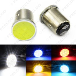 s25 led bulb NZ - wholesale Car 1157 BAY15D S25 COB 12SMD LED Tail Signal Backup Stop Brake LED Light Bulbs #5362