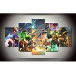 $enCountryForm.capitalKeyWord NZ - Marvel superheroes -2,5 Pieces HD Canvas Printing New Home Decoration Art Painting Unframed Framed