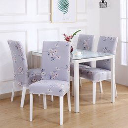 $enCountryForm.capitalKeyWord UK - Printed Chair Cover Slipcovers elegant Strech Chair Protector Dining Room Wedding Banquets Party Home Kitchen Decoration-MHSH