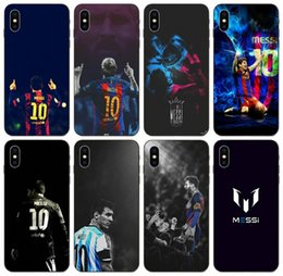 messi case NZ - [TongTrade] Cartoon Messi Football Player Case For Apple iPhone 11 Pro X Xs Max 8s 7s 6s 5 Samsung A30 A40 A50 Huawei P9 Sony Xperia M2 Case