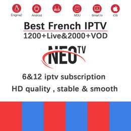 Android Tv Box Neo Australia - Neotv pro H.265 French IPTV subscription Arabic Europe Belgium UK IPTV code Neo one year LiveTV VOD M3U Android Smart TV Box
