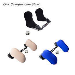 Discount car head neck rest pillow - Car Travel Head Rest Can Be Any Rotation Vehicle Head Car Sleep Side Pillow Cross-Border Vehicle Neck Pillow